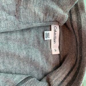 Men's Calvin Klein Merino wool zip sweater size L